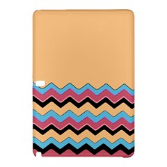 Chevrons Patterns Colorful Stripes Background Art Digital Samsung Galaxy Tab Pro 10.1 Hardshell Case