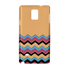 Chevrons Patterns Colorful Stripes Background Art Digital Samsung Galaxy Note 4 Hardshell Case