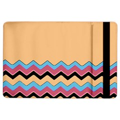 Chevrons Patterns Colorful Stripes Background Art Digital iPad Air 2 Flip