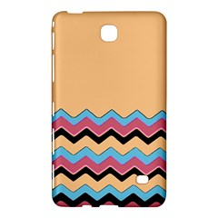 Chevrons Patterns Colorful Stripes Background Art Digital Samsung Galaxy Tab 4 (7 ) Hardshell Case