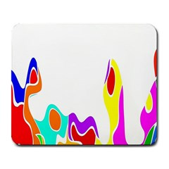 Simple Abstract With Copyspace Large Mousepads