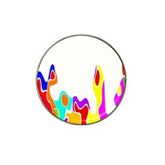 Simple Abstract With Copyspace Hat Clip Ball Marker