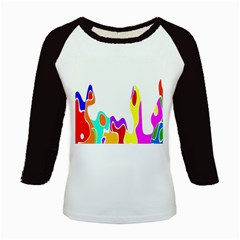 Simple Abstract With Copyspace Kids Baseball Jerseys