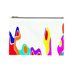 Simple Abstract With Copyspace Cosmetic Bag (large)