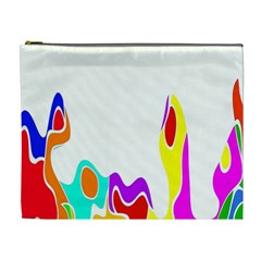 Simple Abstract With Copyspace Cosmetic Bag (XL)