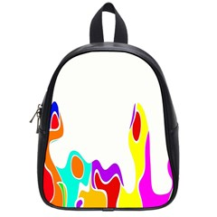 Simple Abstract With Copyspace School Bags (small)