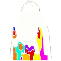 Simple Abstract With Copyspace Full Print Aprons