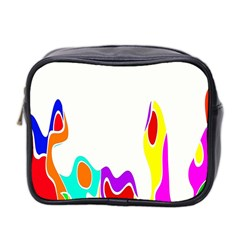 Simple Abstract With Copyspace Mini Toiletries Bag 2 Side