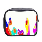 Simple Abstract With Copyspace Mini Toiletries Bag 2-Side Back