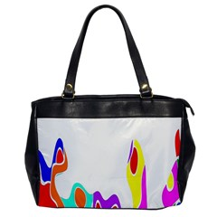 Simple Abstract With Copyspace Office Handbags