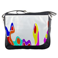 Simple Abstract With Copyspace Messenger Bags