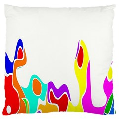 Simple Abstract With Copyspace Large Cushion Case (One Side)