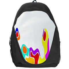 Simple Abstract With Copyspace Backpack Bag