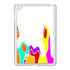 Simple Abstract With Copyspace Apple iPad Mini Case (White)