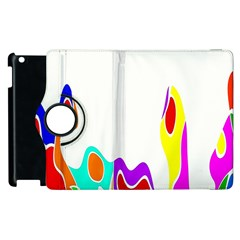 Simple Abstract With Copyspace Apple Ipad 3/4 Flip 360 Case