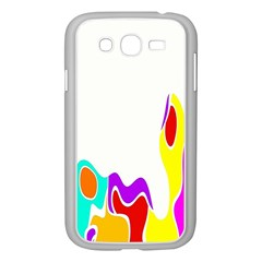 Simple Abstract With Copyspace Samsung Galaxy Grand DUOS I9082 Case (White)