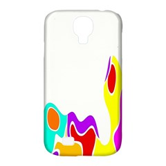 Simple Abstract With Copyspace Samsung Galaxy S4 Classic Hardshell Case (pc+silicone)