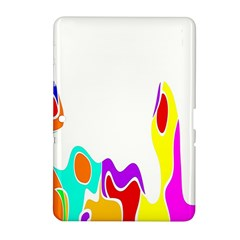 Simple Abstract With Copyspace Samsung Galaxy Tab 2 (10 1 ) P5100 Hardshell Case