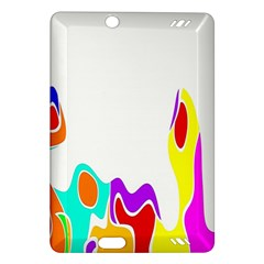 Simple Abstract With Copyspace Amazon Kindle Fire HD (2013) Hardshell Case