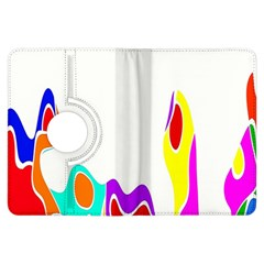 Simple Abstract With Copyspace Kindle Fire HDX Flip 360 Case