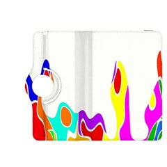 Simple Abstract With Copyspace Kindle Fire HDX 8.9  Flip 360 Case