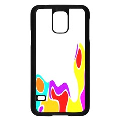 Simple Abstract With Copyspace Samsung Galaxy S5 Case (Black)