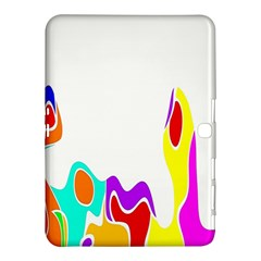 Simple Abstract With Copyspace Samsung Galaxy Tab 4 (10 1 ) Hardshell Case
