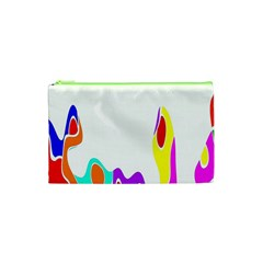 Simple Abstract With Copyspace Cosmetic Bag (XS)