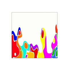 Simple Abstract With Copyspace Satin Bandana Scarf