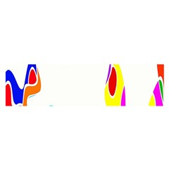 Simple Abstract With Copyspace Satin Scarf (Oblong)