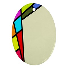 Digitally Created Abstract Page Border With Copyspace Ornament (oval)