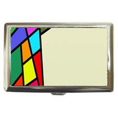 Digitally Created Abstract Page Border With Copyspace Cigarette Money Cases