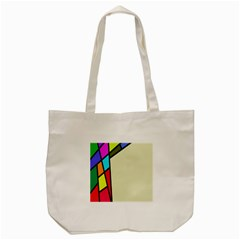 Digitally Created Abstract Page Border With Copyspace Tote Bag (Cream)