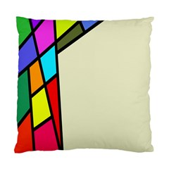 Digitally Created Abstract Page Border With Copyspace Standard Cushion Case (one Side)