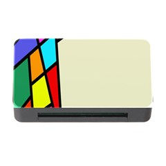 Digitally Created Abstract Page Border With Copyspace Memory Card Reader with CF
