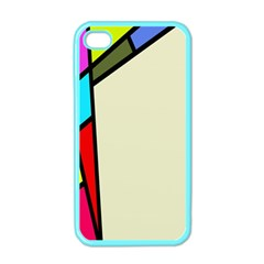 Digitally Created Abstract Page Border With Copyspace Apple iPhone 4 Case (Color)