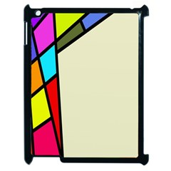 Digitally Created Abstract Page Border With Copyspace Apple iPad 2 Case (Black)