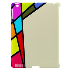 Digitally Created Abstract Page Border With Copyspace Apple iPad 3/4 Hardshell Case (Compatible with Smart Cover)