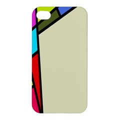 Digitally Created Abstract Page Border With Copyspace Apple iPhone 4/4S Premium Hardshell Case