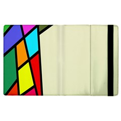 Digitally Created Abstract Page Border With Copyspace Apple iPad 3/4 Flip Case