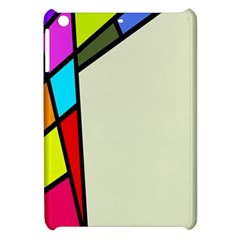 Digitally Created Abstract Page Border With Copyspace Apple iPad Mini Hardshell Case