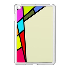 Digitally Created Abstract Page Border With Copyspace Apple iPad Mini Case (White)