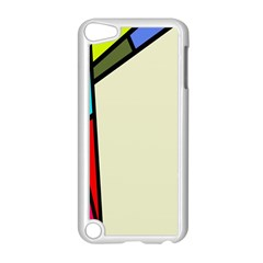 Digitally Created Abstract Page Border With Copyspace Apple Ipod Touch 5 Case (white)