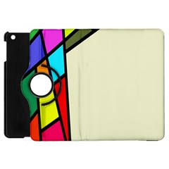 Digitally Created Abstract Page Border With Copyspace Apple iPad Mini Flip 360 Case