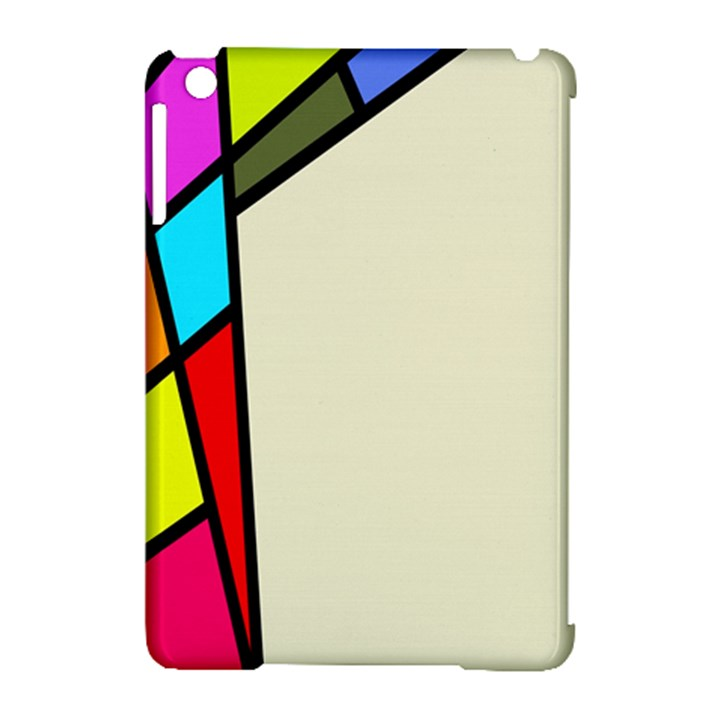 Digitally Created Abstract Page Border With Copyspace Apple iPad Mini Hardshell Case (Compatible with Smart Cover)