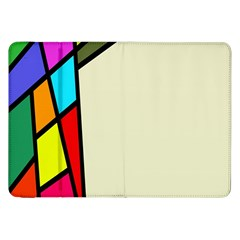 Digitally Created Abstract Page Border With Copyspace Samsung Galaxy Tab 8.9  P7300 Flip Case
