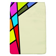 Digitally Created Abstract Page Border With Copyspace Flap Covers (L)