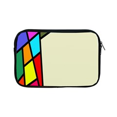 Digitally Created Abstract Page Border With Copyspace Apple iPad Mini Zipper Cases