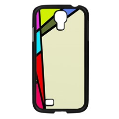 Digitally Created Abstract Page Border With Copyspace Samsung Galaxy S4 I9500/ I9505 Case (black)