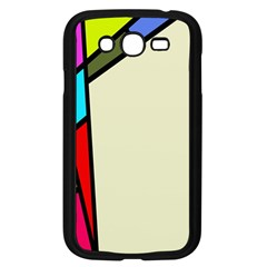Digitally Created Abstract Page Border With Copyspace Samsung Galaxy Grand DUOS I9082 Case (Black)